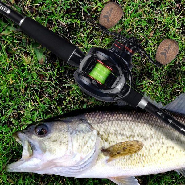 KastKing Spartacus Baitcasting Carbon Fiber Fishing Reel