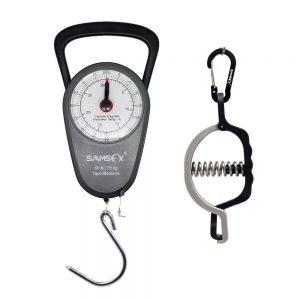 SAMSFX Mechanical Fish Scale with Mini Lip Gripper