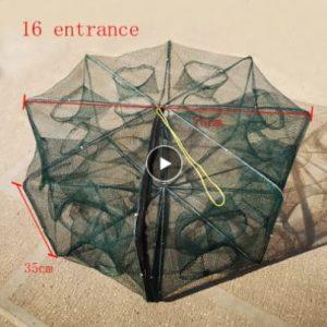 Automatic Folding Umbrella Nylon Fishing