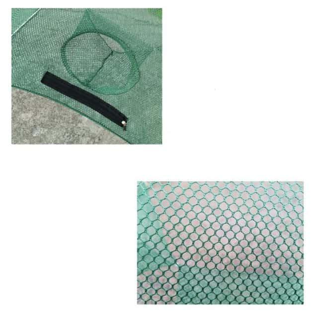 Umbrella Shape Multi Entrance Fishing Trap