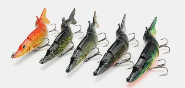 9 segment Multi Fish Lure