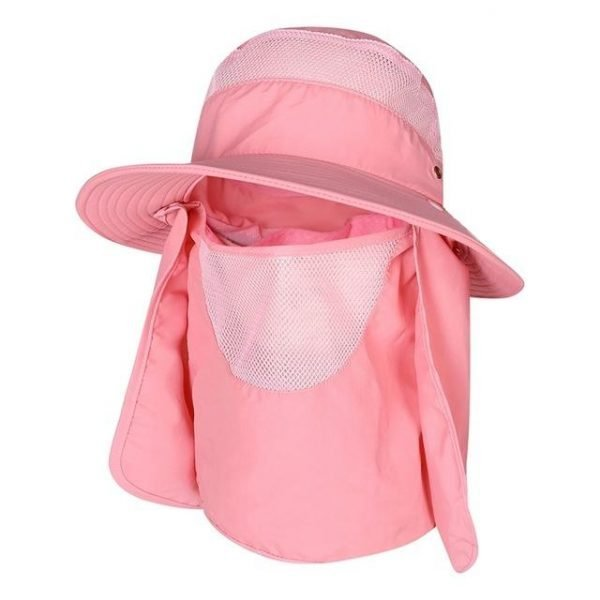 Fishing Cap with Face and Neck Protection