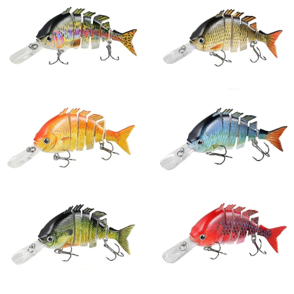 Artificial Multi Jointed Fishing Lure