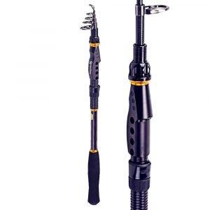Sougayilang Telescopic Carbon Fiber Fishing Rod