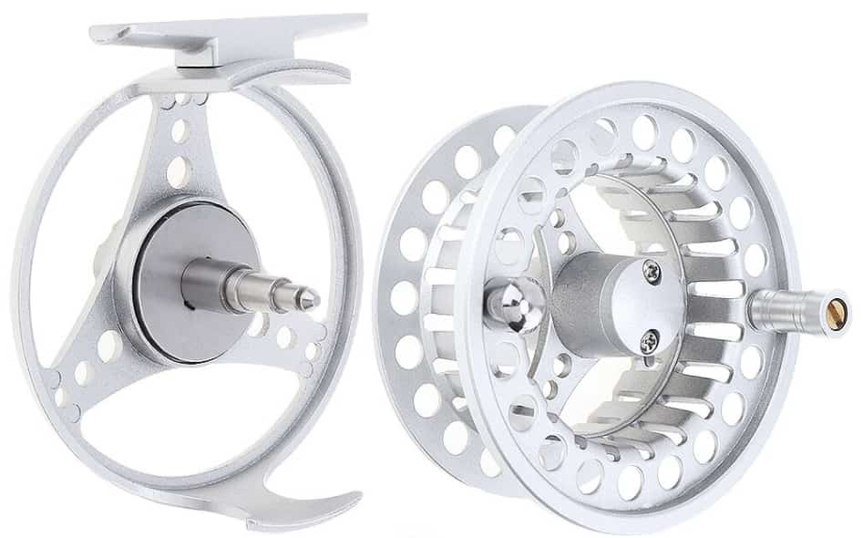 Aluminum Alloy Fly Fishing Reel & Fishing Line