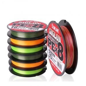 Multicolor 8 Strands Braided Fishing Line