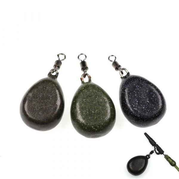 3 Pieces Fishing Tapered Lead Sinkers