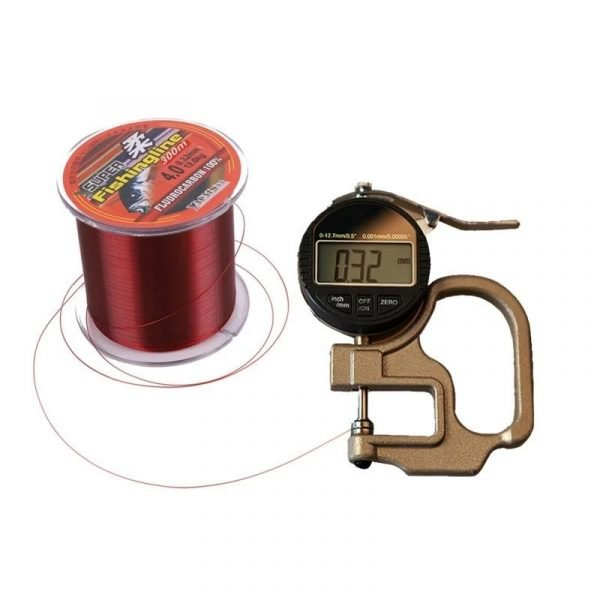 Copper Red Abrasion Resistant Fishing Line