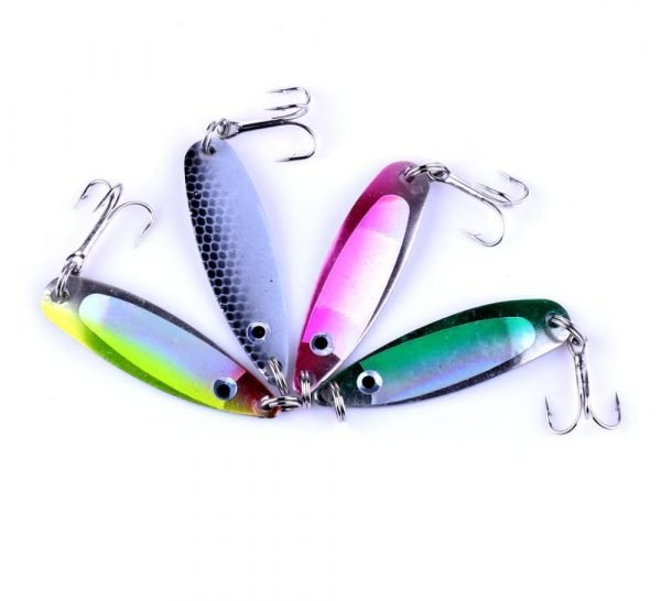 4 Pieces Metal Sequins Fishing Lure