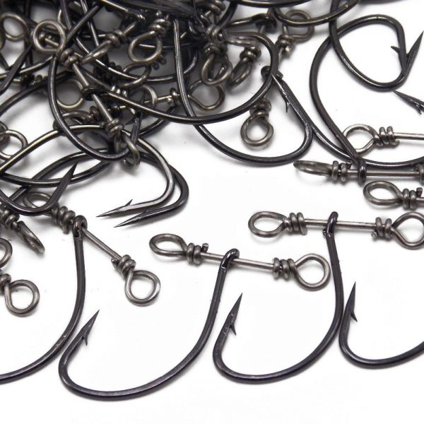 35 Pieces Fishing Hooks with Swivel