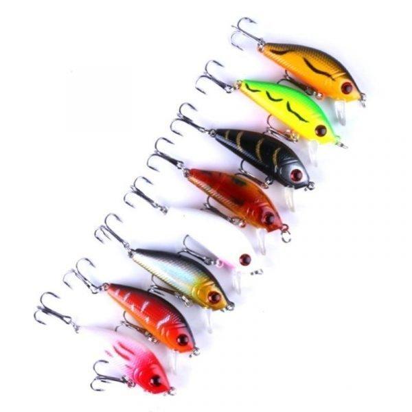 43 Bass Fishing Lures Kit Set