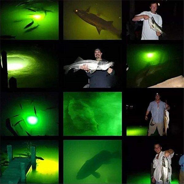 1000 Lumens Night Fishing Finder LED