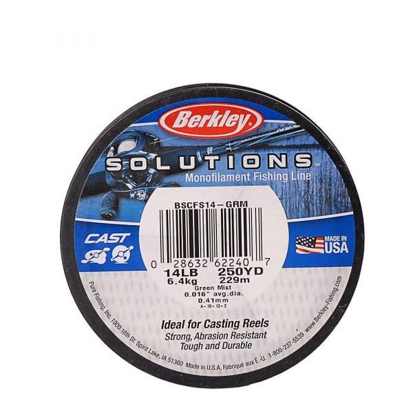 Berkley SOLUTIONS 229m Nylon Fishing Line