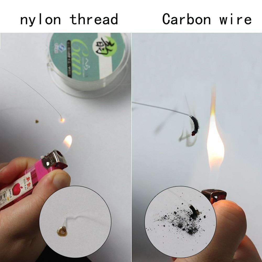 Fluorocarbon Fiber Fly Fishing Line