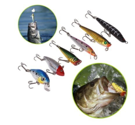 Ultimate Complete Fishing Gear Lure Kit Set