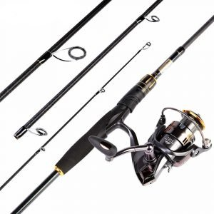 Fishing Rod Combos with O-ring Line Guides
