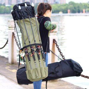 Multifunctional Folding Fishing Rod Storage Backpack
