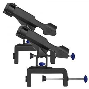 2 Fishing Rod Holder with Large Clamp
