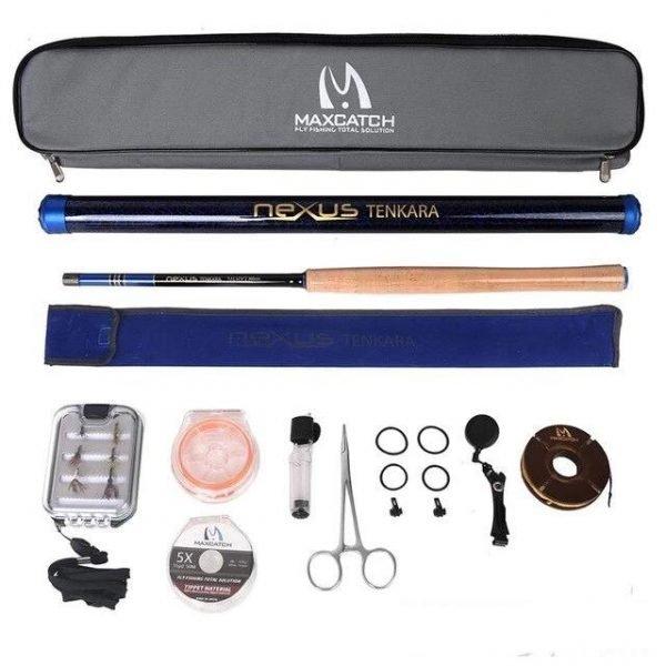 Maxcatch Tenkara Complete Fly Rod Combo & Accessory Kit