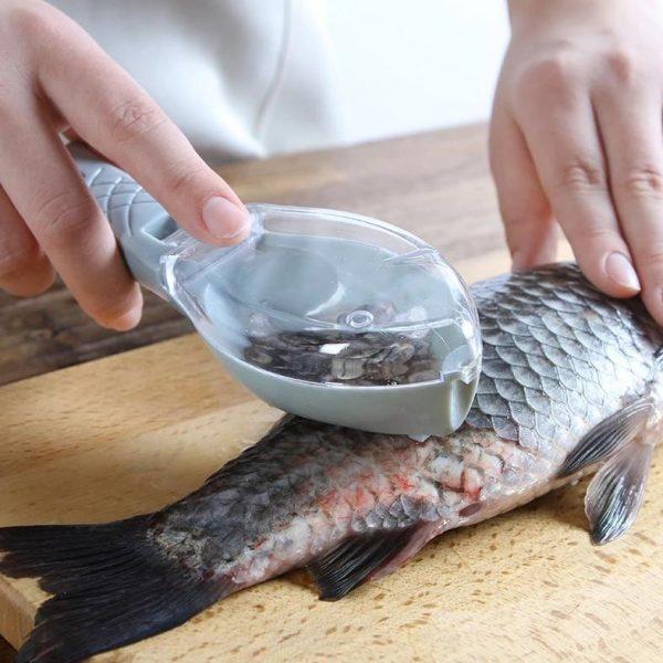 Quick Fish Skin Peeler