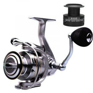 LIEYUWANG Double Spool Fishing Reel 14+1