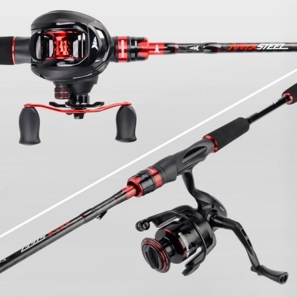 KastKing Max Steel Rod Carbon Fishing Rod