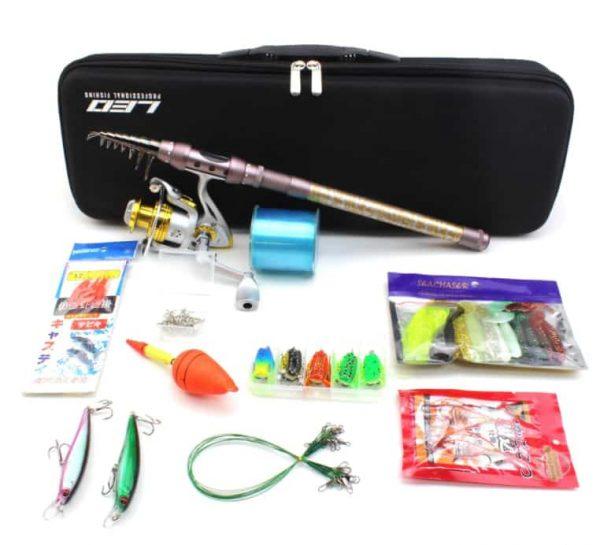 Telescopic Fishing Rod Combo Full Kit