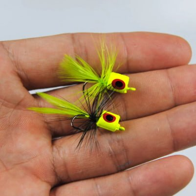 Floating Poppers Fly Fishing Lure for Bass Trout