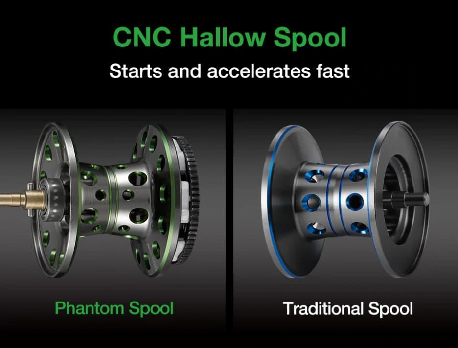 Piscifun Phantom Carbon Fiber Ultralight Baitcasting Reel