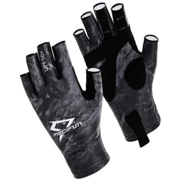 Piscifun UPF50+ Sports & Fishing Breathable Gloves